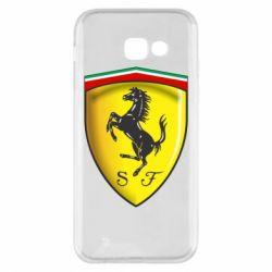 Чехол для Samsung A5 2017 Ferrari 3D Logo