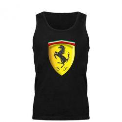 Мужская майка Ferrari 3D Logo - FatLine