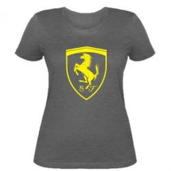 Жіноча футболка Ferrari horse