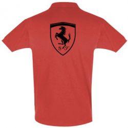 Футболка Поло Ferrari horse