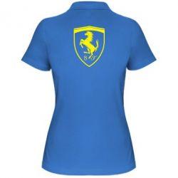 Жіноча футболка поло Ferrari horse
