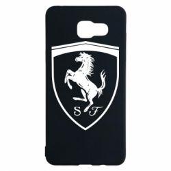 Чохол для Samsung A5 2016 Ferrari horse