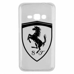 Чохол для Samsung J1 2016 Ferrari horse