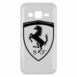 Чохол для Samsung J2 2015 Ferrari horse