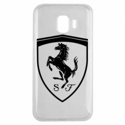 Чохол для Samsung J2 2018 Ferrari horse