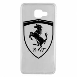 Чохол для Samsung A7 2016 Ferrari horse