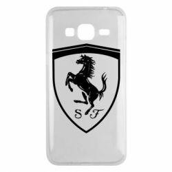 Чохол для Samsung J3 2016 Ferrari horse