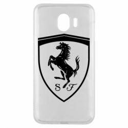 Чохол для Samsung J4 Ferrari horse