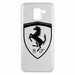 Чохол для Samsung J6 Ferrari horse
