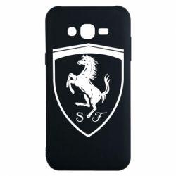Чохол для Samsung J7 2015 Ferrari horse
