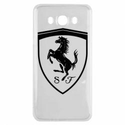 Чохол для Samsung J7 2016 Ferrari horse