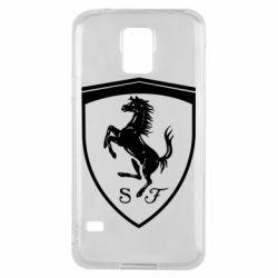 Чохол для Samsung S5 Ferrari horse