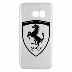 Чохол для Samsung S6 EDGE Ferrari horse