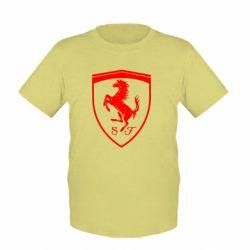 Дитяча футболка Ferrari horse