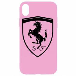 Чохол для iPhone XR Ferrari horse
