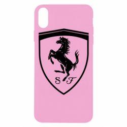 Чохол для iPhone Xs Max Ferrari horse