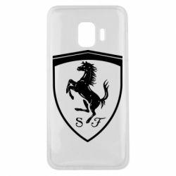 Чохол для Samsung J2 Core Ferrari horse