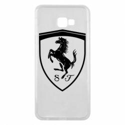 Чохол для Samsung J4 Plus 2018 Ferrari horse