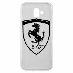 Чохол для Samsung J6 Plus 2018 Ferrari horse