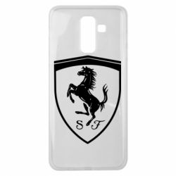 Чохол для Samsung J8 2018 Ferrari horse