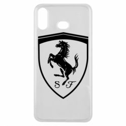 Чохол для Samsung A6s Ferrari horse
