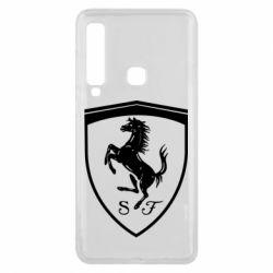 Чохол для Samsung A9 2018 Ferrari horse