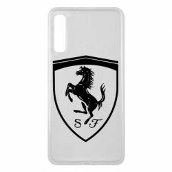 Чохол для Samsung A7 2018 Ferrari horse