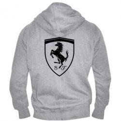 Чоловіча толстовка на блискавці Ferrari horse