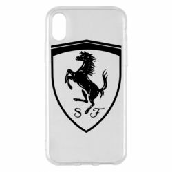 Чохол для iPhone X/Xs Ferrari horse