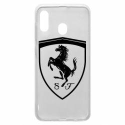 Чохол для Samsung A20 Ferrari horse