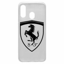 Чохол для Samsung A40 Ferrari horse