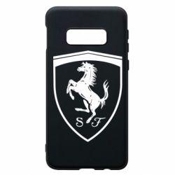 Чохол для Samsung S10e Ferrari horse