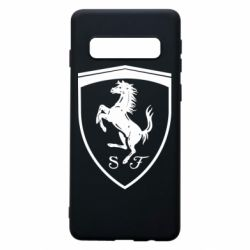Чохол для Samsung S10 Ferrari horse