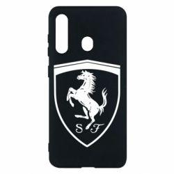 Чохол для Samsung M40 Ferrari horse