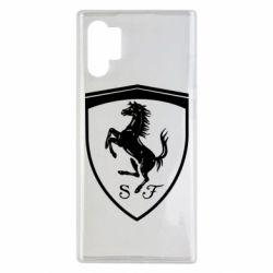Чохол для Samsung Note 10 Plus Ferrari horse