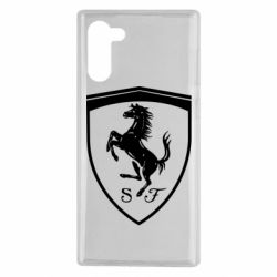 Чохол для Samsung Note 10 Ferrari horse