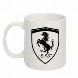 Кружка 320ml Ferrari horse