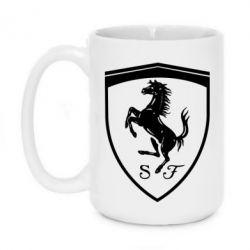 Кружка 420ml Ferrari horse