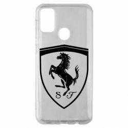 Чохол для Samsung M30s Ferrari horse