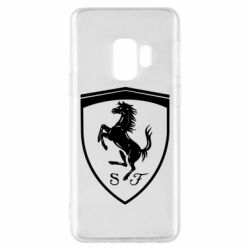 Чохол для Samsung S9 Ferrari horse
