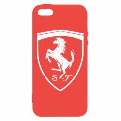 Чохол для iphone 5/5S/SE Ferrari horse