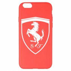 Чохол для iPhone 6 Plus/6S Plus Ferrari horse