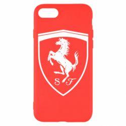 Чохол для iPhone 8 Ferrari horse