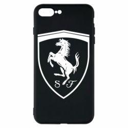 Чохол для iPhone 8 Plus Ferrari horse