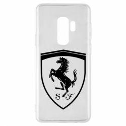 Чохол для Samsung S9+ Ferrari horse