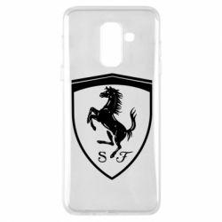 Чохол для Samsung A6+ 2018 Ferrari horse