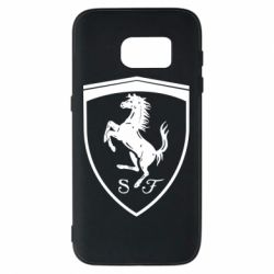 Чохол для Samsung S7 Ferrari horse