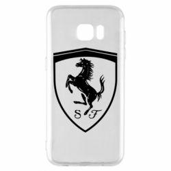 Чохол для Samsung S7 EDGE Ferrari horse