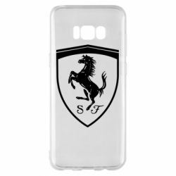 Чохол для Samsung S8+ Ferrari horse