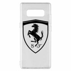 Чохол для Samsung Note 8 Ferrari horse